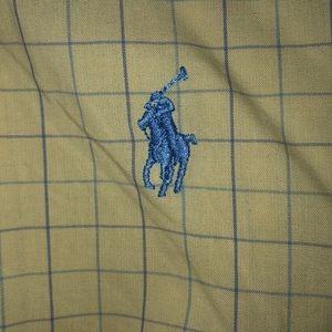 Ralph Lauren polo long sleeve BD size XL